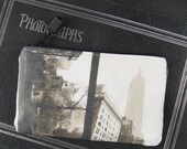 Double-Sided Coin Purse with Vintage Photos of the Empire State Building