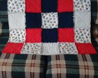 Baby's Flannel Rag Quilt