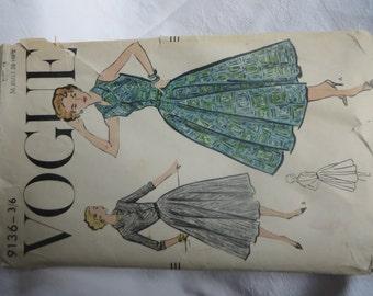 1950's Vintage Vogue Pattern - unused