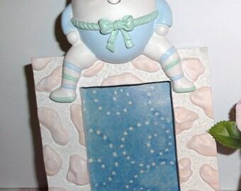 Humpty Dumpty Frame - Vintage - Nursery Decor - Collectibles - Home Decor - Nursery Rhymes - Photo Frame