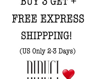 Buy 3 Get + FREE Express Shipping US Only 2-3 DAYS