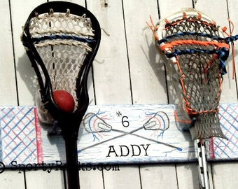 Lacrosse Gift Lax Player Team Colors Personalized Team Colors Girls Lax Team Boys Sports Room Decor Custom Sports Art SportyRacks School Art
