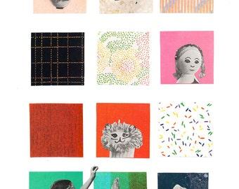 Kid Craft Collage (Print)