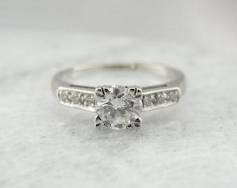 Breathtaking Traditional Diamond Engagement Ring DVEEVR-N