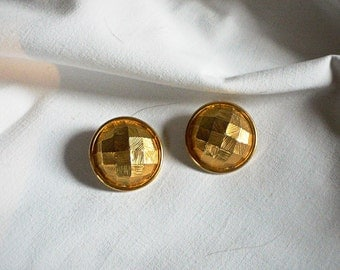 Vintage LANVIN Haute Couture Clip On Earrings