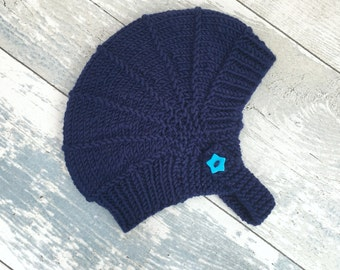 Baby Boy Hat, Baby Outfits for Boys Newborn, Baby Boy Items, Baby Aviator, Ear Flap Hat, Toddler Gift, Knitted Newborn Hat, Baby Shower Boy