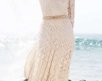 Bohemian Wedding Gown Charee