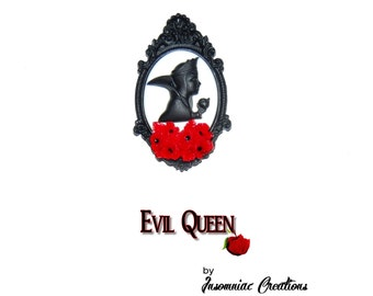 The Evil Queen Cameo Necklace ~ Disney Snow White Poison Apple