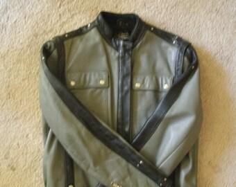 Vintage HEIN GERICKE  for HARLEY Davidson  Leather Jacket  38W