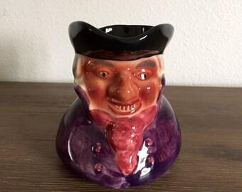 Staffordshire Toby Jug; Shorter & Son Toby Jug; Hand Painted Mug; Character Mug; Face Mug; Staffordshire England Toby Jug; Toby Jug