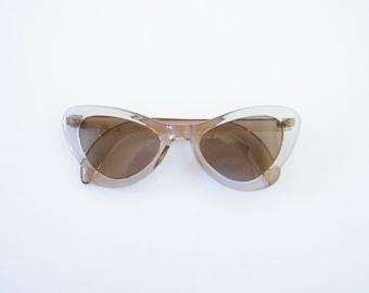 50s cat eye sunglasses vintage women sunglasses clear glasses clear frame sunglass cat eye frames 50s party clear frames translucent