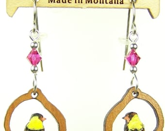 437 GoldFinch Earrings