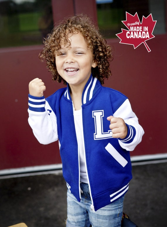 Toddler Varsity Jacket Personalized Kids Varsity Jacket By