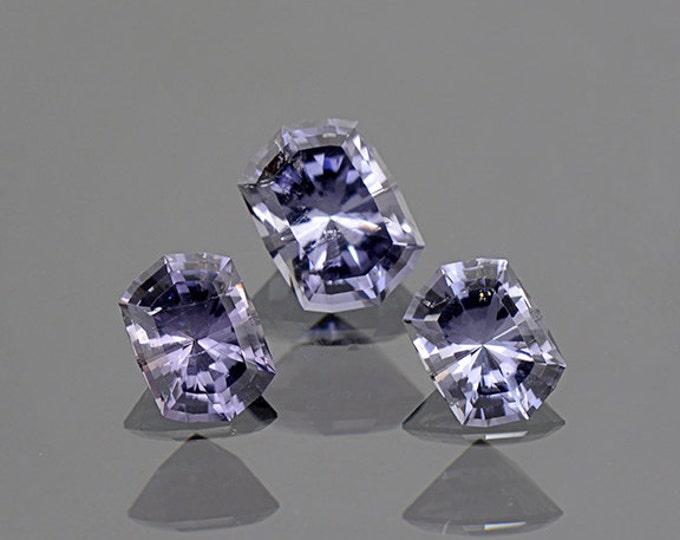 Exceptional Silvery Purple Tourmaline Gemstone Set from Brazil 4.83 tcw.