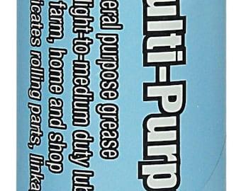 Multi Purpose Black GREASE light to medium duty 14 ounce Cartridge NLGI 1 1/2 Liquid Wrench GR011