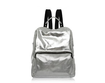 Leather backpack,Leather bag,Backpack, Leather Rucksack