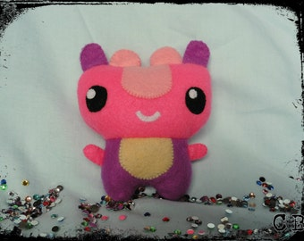 Little Pink Monster Plushie