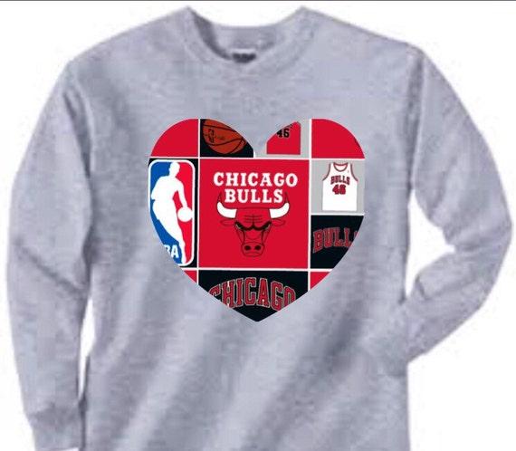 Long Sleeved Chicago Bulls Shirt