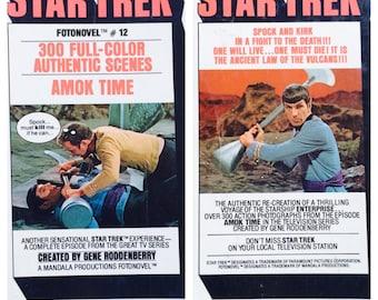Star Trek FotoNovel #12, Graphic Novel 1976