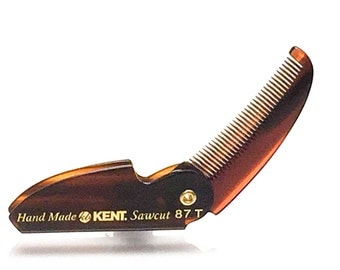 Kent 87t Limited Edition Folding Mustache Comb