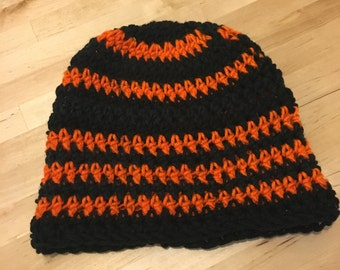 Orange Power Beanie