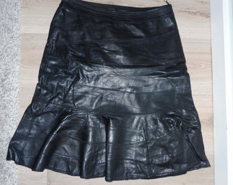 China leather skirt size (38-40)