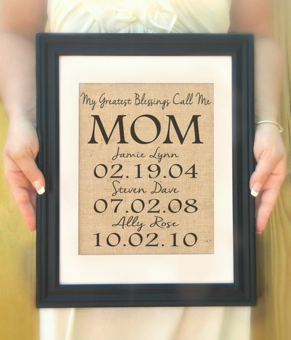 Personalized gift for mom mother s day from kids
