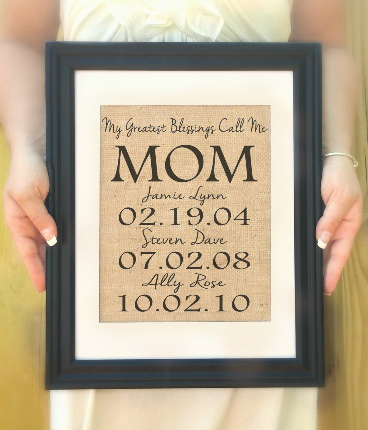 Personalized Gift For Mom Mother 39 S Day Gift From Kids