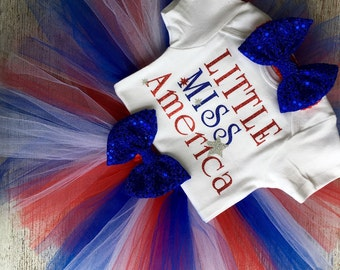 Little Miss America Outfit
