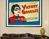 "Victory Goggles 30""w..."