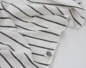 B+W Stripe Swaddle