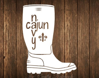 Cajun Decal Etsy