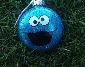 Cookie Monster, Sesame Street Inspired Ornament