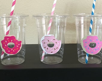 Donut party cups