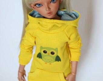 Fashionable hoodie for Minifee slim MSD.