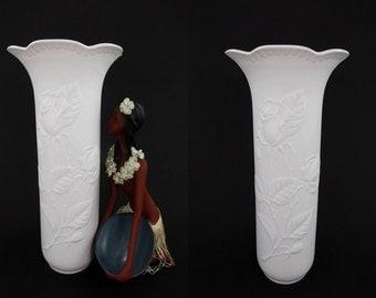 Vintage vase / AK Kaiser / 652 2 / rose | West German Pottery | 70s