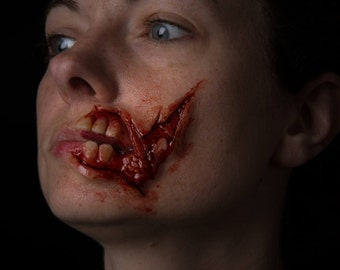 Walking Dead Zombie Mouth Prosthetic Halloween Cosplay