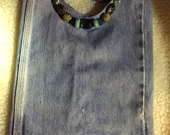 Blue Jean Shoulder Bag