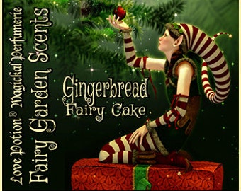 Fairy Cake: Gingerbread - Layerable Perfume - Love Potion Magickal Perfumerie