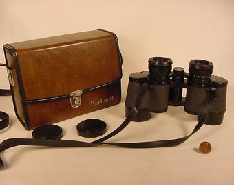 Vintage Old Collectible * Binoculars * Bushnell * Sport View * 7 x 35 extra wide