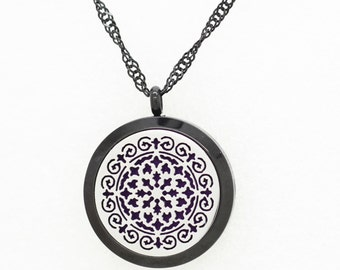 Essentail Oil Diffuser Necklace- Two Tone
