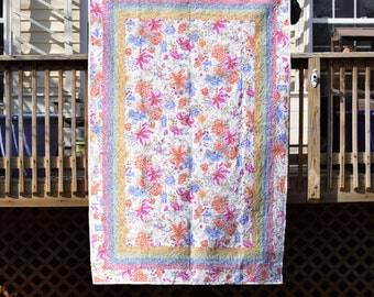 """Somerset Lily Home Crafted Quilt 60.5"""" x 90"""""""