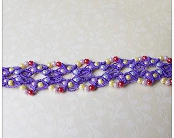 Macrame Lace bracelet * *