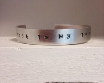 Tick to my Tock Cuff bracelet