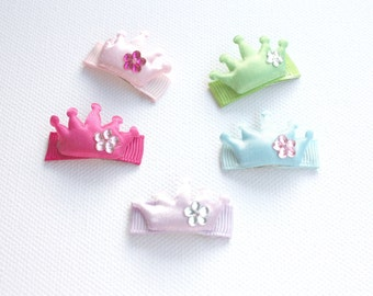 crown baby snap clips