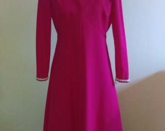 Vintage Pink Maxi Dress/Gown.