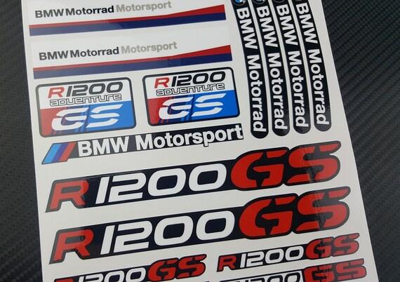 BMW Motorrad RGS Adventure Two Decal Sheets Set - Bmw motorrad motorsport decals