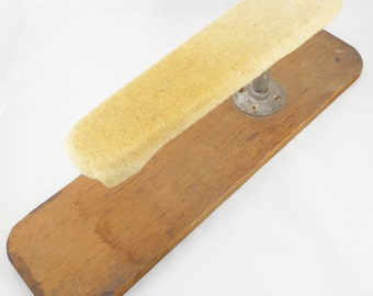 "Ironing Sleeve Board 22 1/4"", Vintage Primitive Sleeve Board, Seamstress Ironing Board, Rustic Handmade Home Ironing Sleeve Board"