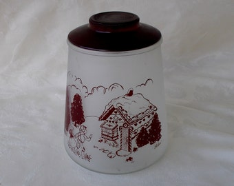 Vintage Hansel & Gretel Cookie Jar, Pokee