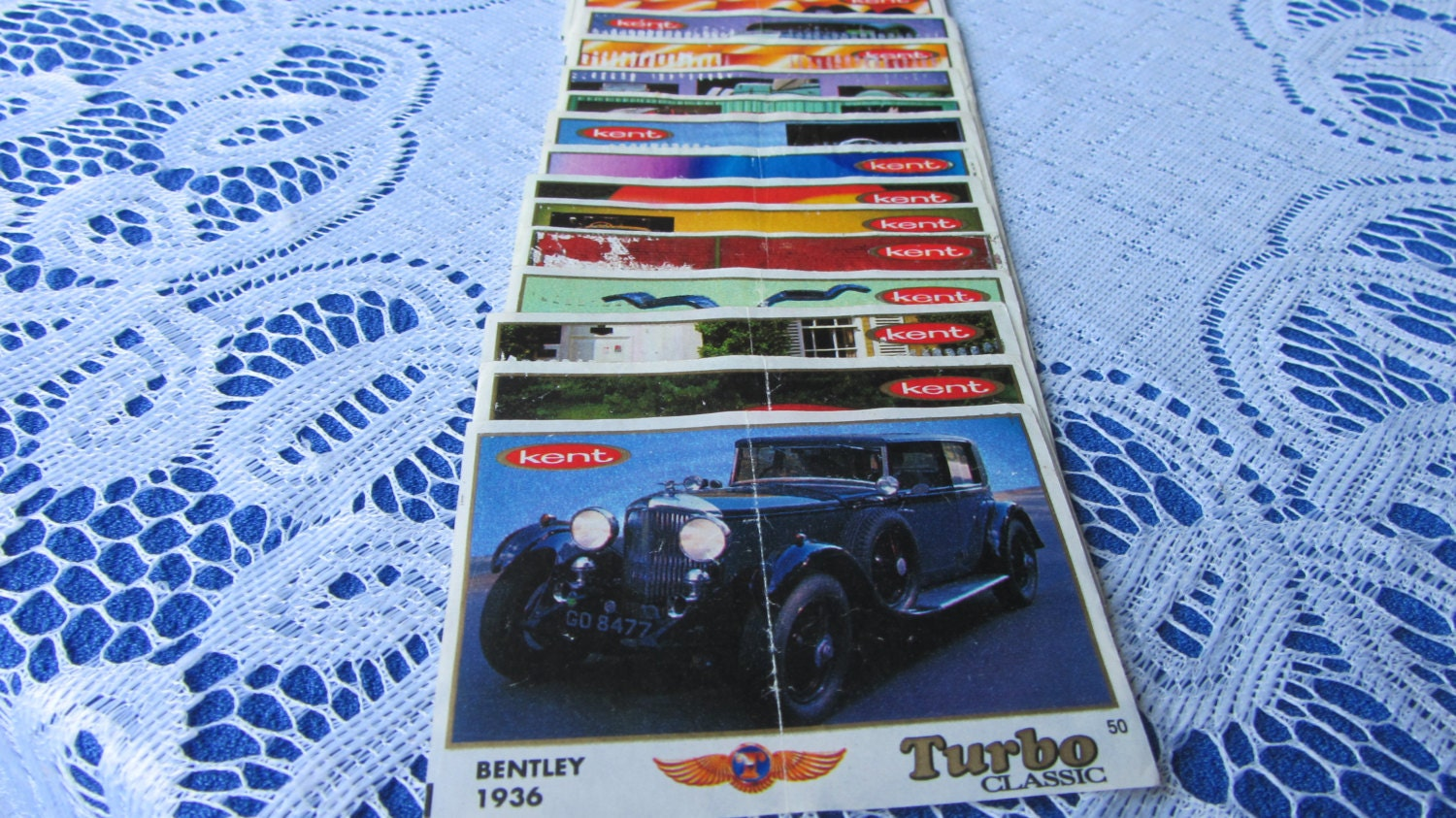 Turbo Classic 1 Edition old wrappers, Complete Turbo Classic collection, Vintage